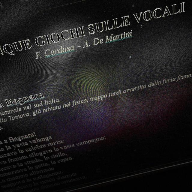 5 giochi sulle vocali